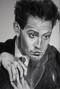 Egon Schiele Bleistiftskizze